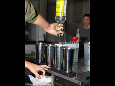 Utilizzo Metal Pour
