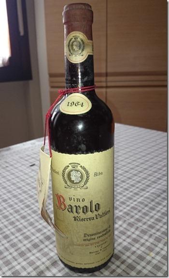 Vino Barolo 1964.r