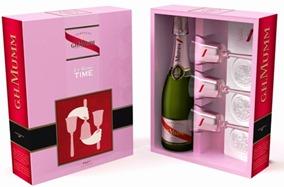 Vino Champagne GH Mumm le rosè time