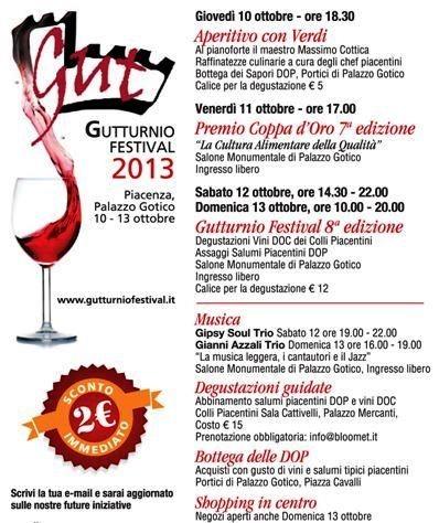 Vino Gutturnio Festival 2013