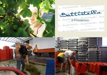 Vino Prosecco Battistella vendemmia  10.09.2012