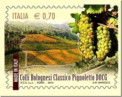 Vino francobollo_Pignoletto