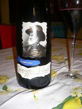 Vino Lambrusco Giuseppe Verdi 2