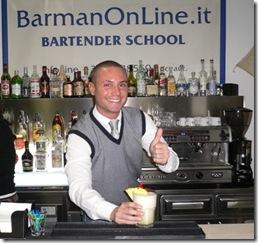 Bartender sorriso