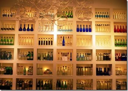 Bottiglie acqua di tutto il mondo