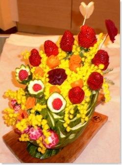 carving vaso festa donna 004