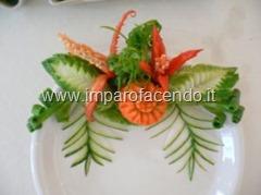decorazione piatto Thai