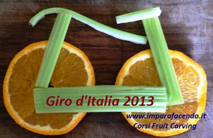 fruit carving BiciclettaR