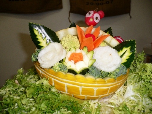 fruit carving Cestino1