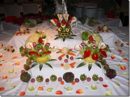 Fruit Carving Buffet 1