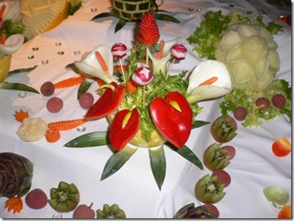 Fruit Carving Buffet 2