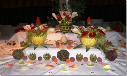 Fruit Carving Buffet 3