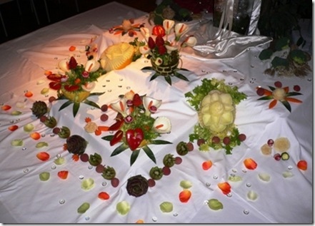 Fruit Carving Buffet 4