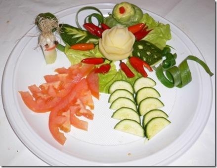 Fruit Carving piatto portata 1