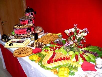 Buffet Di Dolci E Frutta : Buffet di frutta e dolci catering buffet la tua felicità la