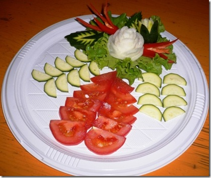 Fruit Carving Decorazione piatto