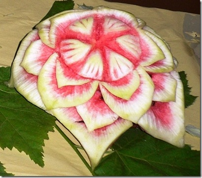 Fruit Carving Fiore Anguria r