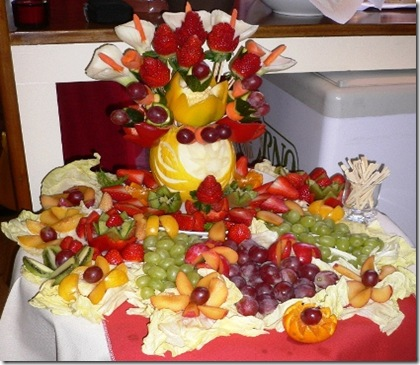 Fruit Carving Piccolo Buffet Frutta