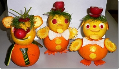 fruit carving pupazzetti 3