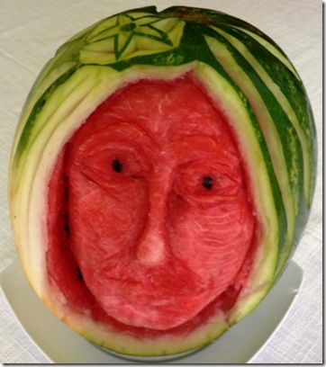 Fruit Carving Viso