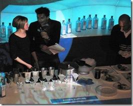 Gin Bombay Sapphire Concorso Barman-Chef Bianco