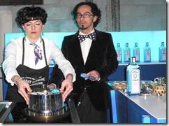 Gin Bombay Sapphire Concorso Barman-Chef Caffè Gambrinus