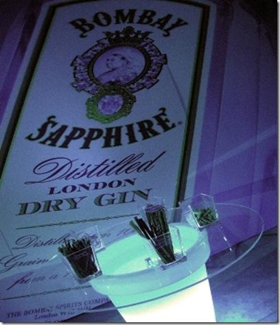 Gin Bombay Sapphire e Aromatizzanti