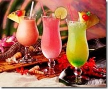 Hurricane drinks colorati