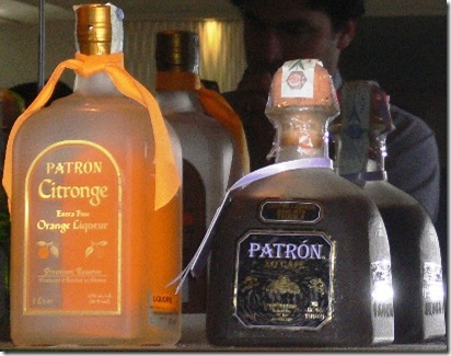 Liquori PATRON Citronge e XO Cafè