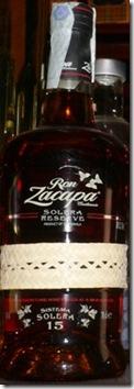 Ron Zacapa Solera 15