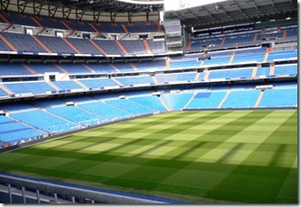 Stadio Bernabeu Madrid 2