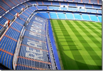 Stadio Bernabeu Madrid 4