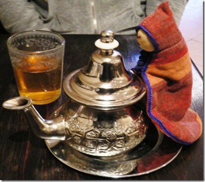 Tè alla menta in Teiera
