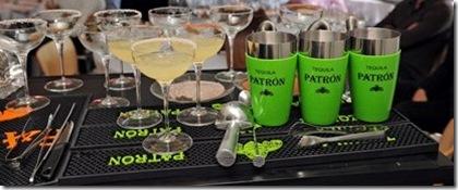 Tequila Patròn Margarita con selezione di sali r