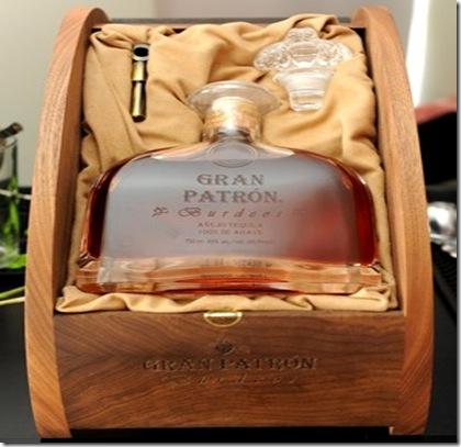 Tequila Patron Burdeos