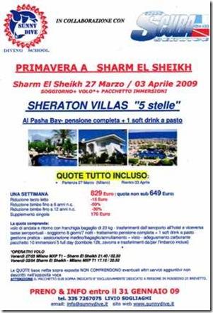 Viaggio a Sharm el Sheikh
