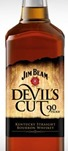 whiskey bourbon jim beam devils cut