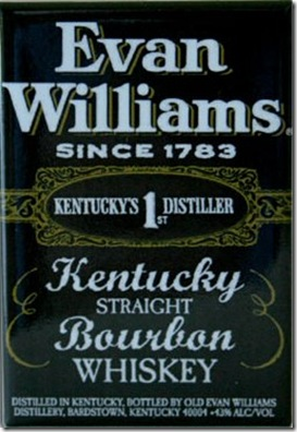 Whiskey Evan Williams N°1